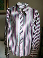 Vintage GAP 100% Cotton, Long Sleeve Striped Shirt, Medium, Underarm 40""
