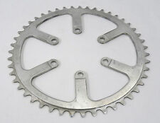 "T.A. 47T Chainring Inner Road 80 Bcd Ref 2082 Vintage Racing Bicycle 3/32"" NOS"