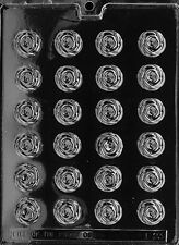 SMALL BS TINY ROSES MOLD Chocolate Candy candy mold bite size rose pieces flower