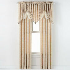 Georgina Clipped Jacquard Window Treatments - Assorted Colors & Sizes