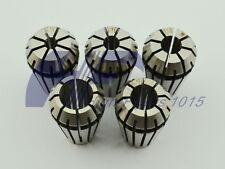 """ER16 5 PCS Spring Collet Set 1/8 - 3/8"""" for CNC milling Lathe with 3/16 1/4 5/16"""