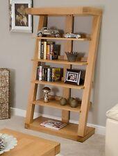 Z solid oak designer furniture large living room office bookcase