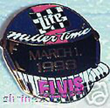 Rusty Wallace Elvis Helmet NASCAR Collector Pin