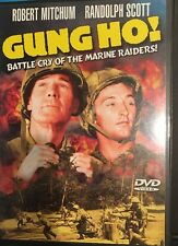 Gung Ho Robert Mitchum Randolph Scott DVD 1943 Black & White