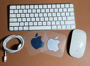 New Blue Apple Magic Keyboard with Touch ID & Magic Mouse, for M1 iMacs
