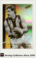 2000 Select AFL Millenium Series Card Series Leigh Matthews Legend Card--Rare