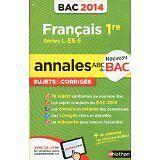 Anne Cassou-Noguès et Séléna HEBERT - Annales ABC du BAC 2014 Français 1re - 201
