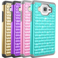 For Samsung Galaxy On5 Case Armor Hybrid Dual Layer Shockproof Hard Phone Cover