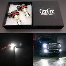 2x H11 H8 H16 6000K Super White CREE 100W LED High Power Fog Light Driving Bulb