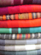 "WHOLESALE LOT OF 20 SOFT ALPACA WOOL ALONSO BLANKETS 90"" X 64"""