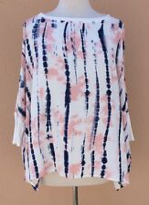 Juicy Couture Top Blouse T-Shirt Relaxed Fit Multi S NWOT