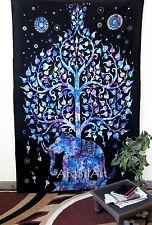 éléphant tapisserie TAPISSERIE MURALE Inde boho hippie couvre-lit décor Art