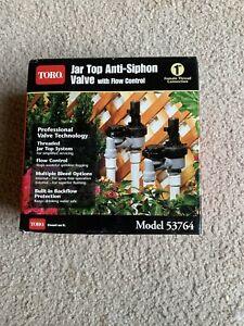 Toro Jar Top Anti-siphon Valve with Flow Control, #53764