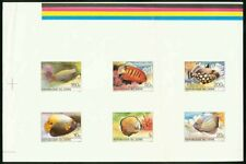 Zaire 1980 Tropical Fish COMPOSITE PROOF SHEET