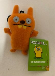 Cozymonster UglyDoll Original Backback Clip plush toy (BNWT) - UglyDolls