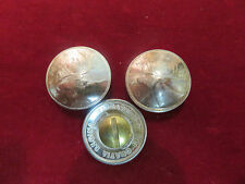 Concho:1 real coin Canadian Elk Quarter, 72% Silver, Post and screw