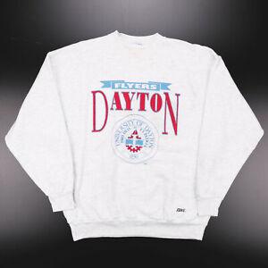Vintage  USA College Grey 90s Round Neck Sweatshirt Mens XL