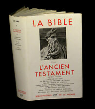[THEOLOGIE La PLEIADE] La Bible - Ancien testament (I).