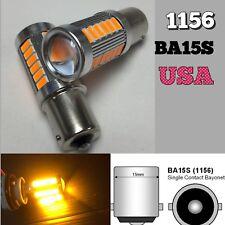Backup Reverse 1156 BA15S 33SMD 180° LED Projector Lens Amber Bulb K1 HA