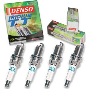 4 pc Denso Iridium TT Spark Plugs for 2013-2016 Mitsubishi Outlander Sport uz