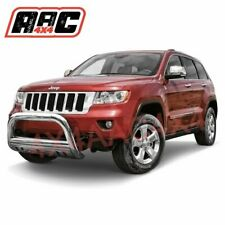 """Jeep Grand Cherokee 2010-2018 Nudge Bar 3"""" Stainless Steel Grille Guard"""