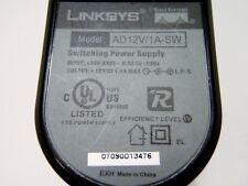 AD12V/1A-SW Linksys 12V AC/DC Switching Power Supply transformer adapter plug