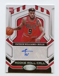 Patrick Williams 2020-21 Panini Certified Rookie Roll Call Autograph AG0400