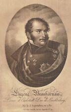Royalty,Germany,Eugene Beauharnais,Duke of Leuchtenburg,Stepson of Napoleon I