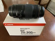 Canon EF 70-300mm f/4-5.6 AF IS USM Lens