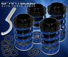 ADJUSTABLE SCALED LOWERING COILOVER SLEEVES SPRING KIT BLUE FOR 96-98 TIBURON