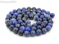 Natural Sodalite Jasper Gemstone Round Beads 15.5'' 4mm 6mm 8mm 10mm 12mm 14mm