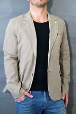 G-Star Herren Sakko RCT Omega Deconstructed Blazer Grege Size 52 Cotton Trial