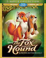 PRE  ORDER: THE FOX AND THE HOUND: 2 MOVIE COLLECT - BLU RAY - Region A - Sealed