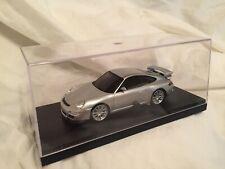 KYOSHO Dnano ASC RM PORSCHE 911 GT3, SILVER 1:43 DISPLAY MODEL, DNX402S