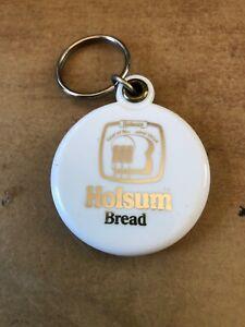 Vintage Holsum Bread Plastic Photo & Mirror Key Chain Fob keychain