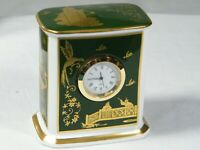 A Wedgwood/Spode China Mantle Clock from the collections of Williamsburgh  U.S.A