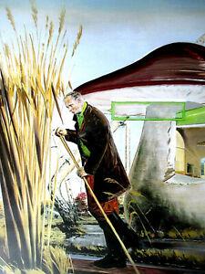 NEO RAUCH >Moor< Poster 48x60cm, 2003,,Galerie Eigen-Art, Leipzig WIE NEU