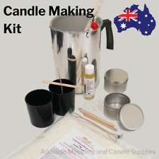 Candle Making Kit 1kg Soy Wax 1.8Kg Pouring Pot