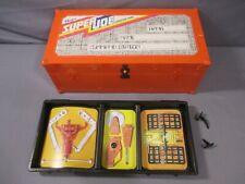 "Adventure Team SUPER JOE ORANGE FOOTLOCKER GI Joe 8"" 1975 Vintage Carring Case"