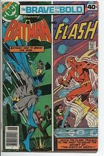 DC Comics The Brave and the Bold with Batman and The Flash #151 June '79 VG+ 4.5