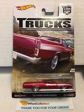 '72 Ford Ranchero * Hot Wheels Trucks Car Culture * NE11