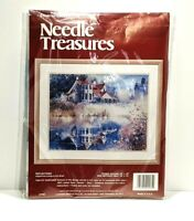 """Needle Treasures Counted Cross Stitch Kit REFLECTIONS 18 x 14"""" NEW"""