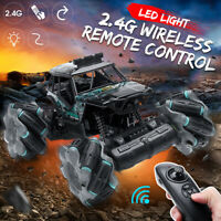 360° Rotation Remote Control Car Boat Truck for Kids RC Car Stunt W/ LED