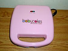 BABYCAKES PINK CUPCAKE MAKER MODEL CC-70, MAKES 6 CUPCAKES