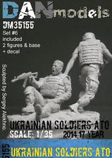 UKRAINIAN SOLDIERS 2014-2017. UKRAINE. ATO, SET #6 (RESIN) 1/35 DAN MODELS 35155