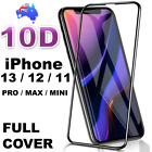 Tempered Glass Full Screen Protector for Apple iPhone 13 12 11 Pro Max Mini