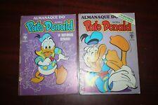 Lot 2 Donald Duck Almanac - Brazilian comics 1987/88