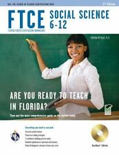FTCE Teacher Certification Test Prep: FTCE Social Science 6-12 by Cynthia...