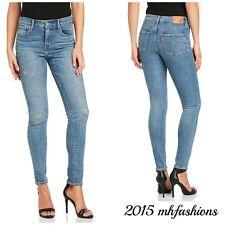 """Levi's® Womens 721™ High Rise Skinny Fit Jean """" Sunbleach Repair """" SIZE 26 X 30"""