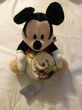 Mickey Mouse Hugger Baby Blanket Plush Toy  With Fleece Throw